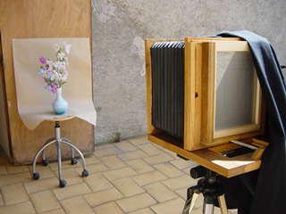 Ambrotype histoire et fabrication - Chevalet de chambre ...